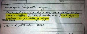 Hilariously Ridiculous Reasons to Get Detention (34 photos) 31