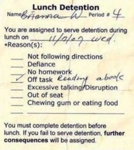 Hilariously Ridiculous Reasons to Get Detention (34 photos) 33