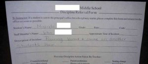 Hilariously Ridiculous Reasons to Get Detention (34 photos) 6