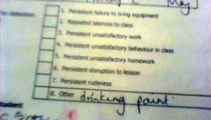 Hilariously Ridiculous Reasons to Get Detention (34 photos) 8