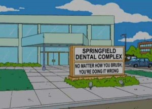 46 Hilarious Signs Spotted in The Simpsons (46 photos) 11