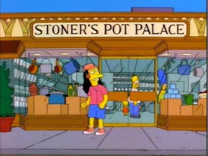 46 Hilarious Signs Spotted in The Simpsons (46 photos) 17