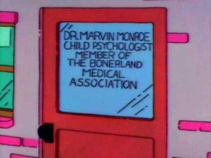 46 Hilarious Signs Spotted in The Simpsons (46 photos) 18