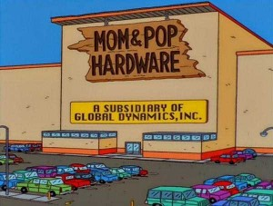 46 Hilarious Signs Spotted in The Simpsons (46 photos) 26