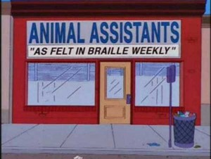 46 Hilarious Signs Spotted in The Simpsons (46 photos) 33
