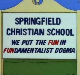 46 Hilarious Signs Spotted in The Simpsons (46 photos)
