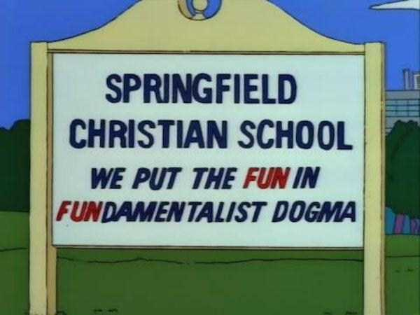 46 Hilarious Signs Spotted in The Simpsons (46 photos) 41