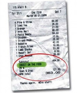 Unexpectedly Funny Things Spotted on Receipts (25 photos) 1