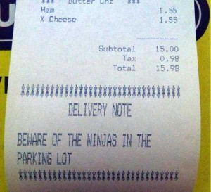 Unexpectedly Funny Things Spotted on Receipts (25 photos) 11