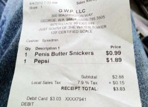 Unexpectedly Funny Things Spotted on Receipts (25 photos) 12