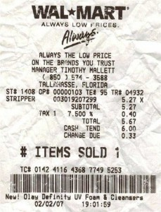 Unexpectedly Funny Things Spotted on Receipts (25 photos) 16