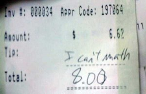 Unexpectedly Funny Things Spotted on Receipts (25 photos) 17