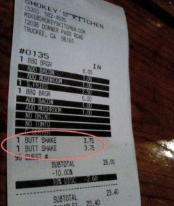 Unexpectedly Funny Things Spotted on Receipts (25 photos) 2