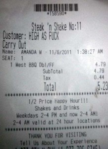 Unexpectedly Funny Things Spotted on Receipts (25 photos) 21