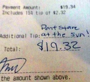Unexpectedly Funny Things Spotted on Receipts (25 photos) 23