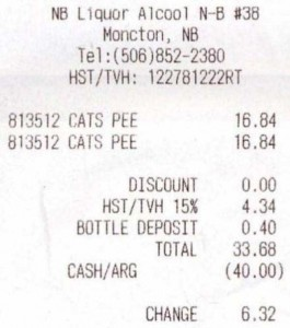 Unexpectedly Funny Things Spotted on Receipts (25 photos) 3