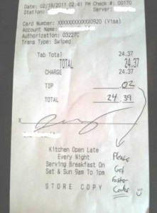 Unexpectedly Funny Things Spotted on Receipts (25 photos) 7