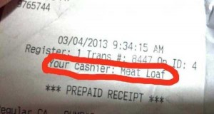 Unexpectedly Funny Things Spotted on Receipts (25 photos) 9