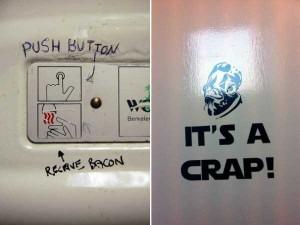 Funny Toilet Graffiti (18 photos) 7