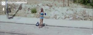 Prostitutes Caught On Google Street View (31 photos) 2