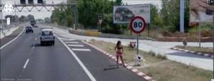 Prostitutes Caught On Google Street View (31 photos) 5
