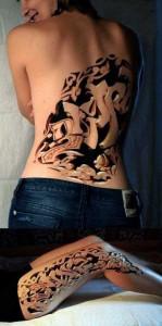 35 Frighteningly Realistic 3D Tattoos (35 photos) 12