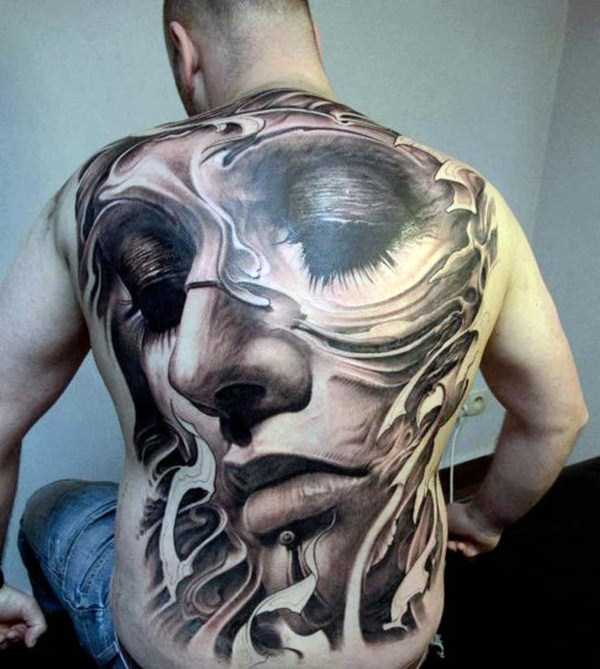Download Best Tattoo Pictures: 35 Frighteningly Realistic 3D Tattoos