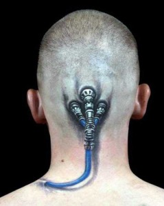 35 Frighteningly Realistic 3D Tattoos (35 photos) 25