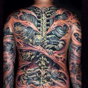 35 Frighteningly Realistic 3D Tattoos (35 photos) 27