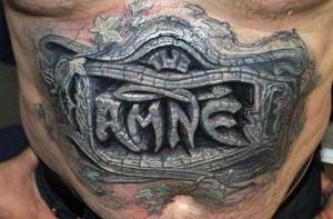 35 Frighteningly Realistic 3D Tattoos (35 photos) 33