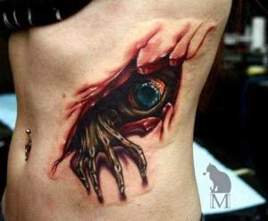 35 Frighteningly Realistic 3D Tattoos (35 photos) 4