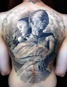 35 Frighteningly Realistic 3D Tattoos (35 photos) 9