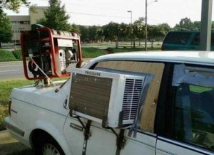 Funny-Looking But Efficient Homemade Air Conditioners (20 photos) 12