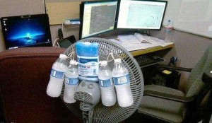 Funny-Looking But Efficient Homemade Air Conditioners (20 photos) 2