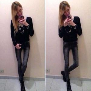 Super Skinny Girls (33 photos) 16