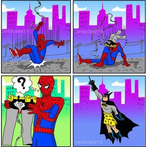 Sometimes Superheroes Can Be Real Jerks (25 photos) 10
