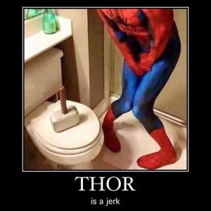 Sometimes Superheroes Can Be Real Jerks (25 photos) 11