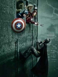Sometimes Superheroes Can Be Real Jerks (25 photos) 15