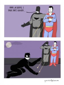 Sometimes Superheroes Can Be Real Jerks (25 photos) 23