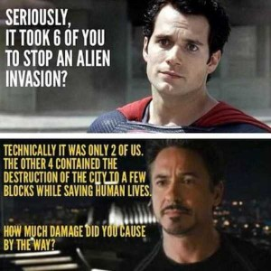 Sometimes Superheroes Can Be Real Jerks (25 photos) 3