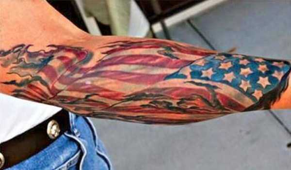 Badass Patriotic Tattoos (42 photos) 27