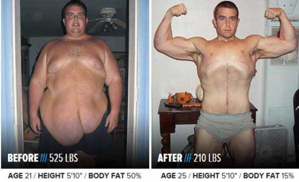 40 Impressive Weight-Loss Transformations (40 photos) 35