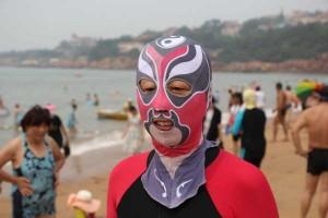 Weird Summer Beach Fashion Trend in China (14 photos) 5