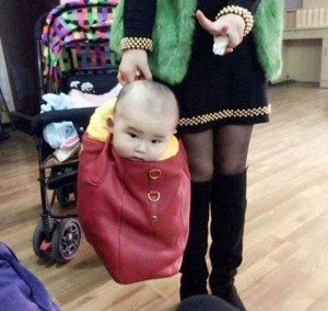 20 Wacky Techniques For Carrying Your Kid (20 photos) 12