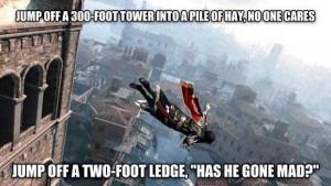 Ridiculously Absurd Video Game Logic (40 photos) 38