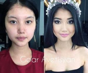Makeup Can Drastically Change a Woman's Face (27 photos) 20