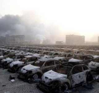 Eerie Pictures Show the Aftermath of Tianjin Explosions (41 photos)
