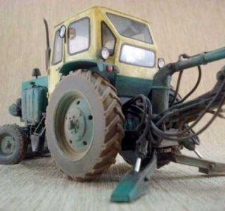 Impressive Cardboard Tractor (24 photos)