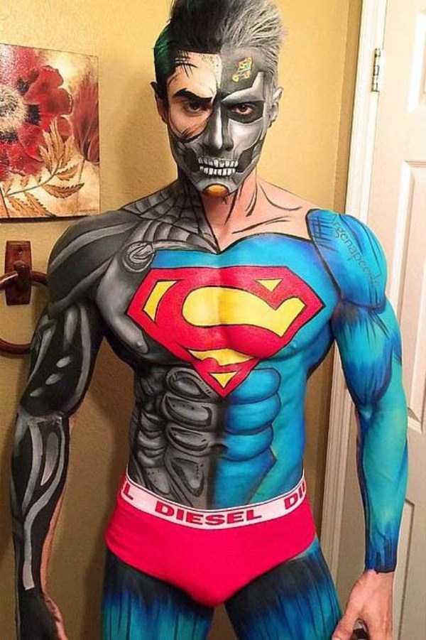 32 Great Examples Of Comic Book Makeup Klyker Com