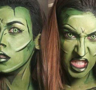 32 Great Examples of Comic Book Makeup (32 photos)
